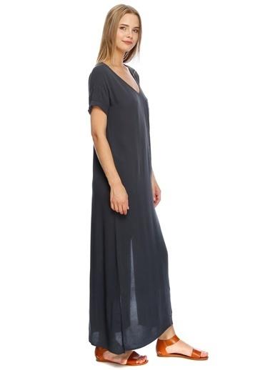 Fridays Project Uzun Şifon Elbise Antrasit